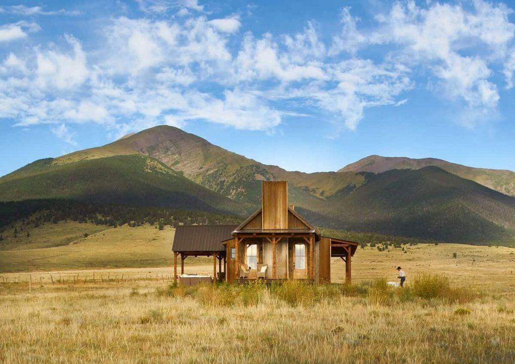 Modern Ranch Cabin Colorado Airbnb