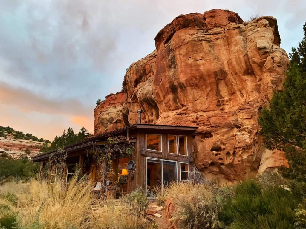 Sage Canyon Cliff House Colorado Airbnb