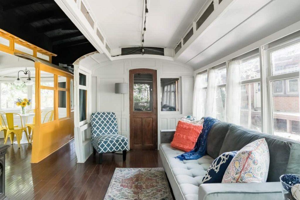 Unique Colorado Airbnb Historical Trolley Car