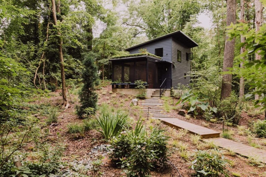 Airbnb in North Carolina Modern Tiny House In The Trees