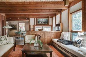 Best Airbnb in Michigan Hemlock Lodge