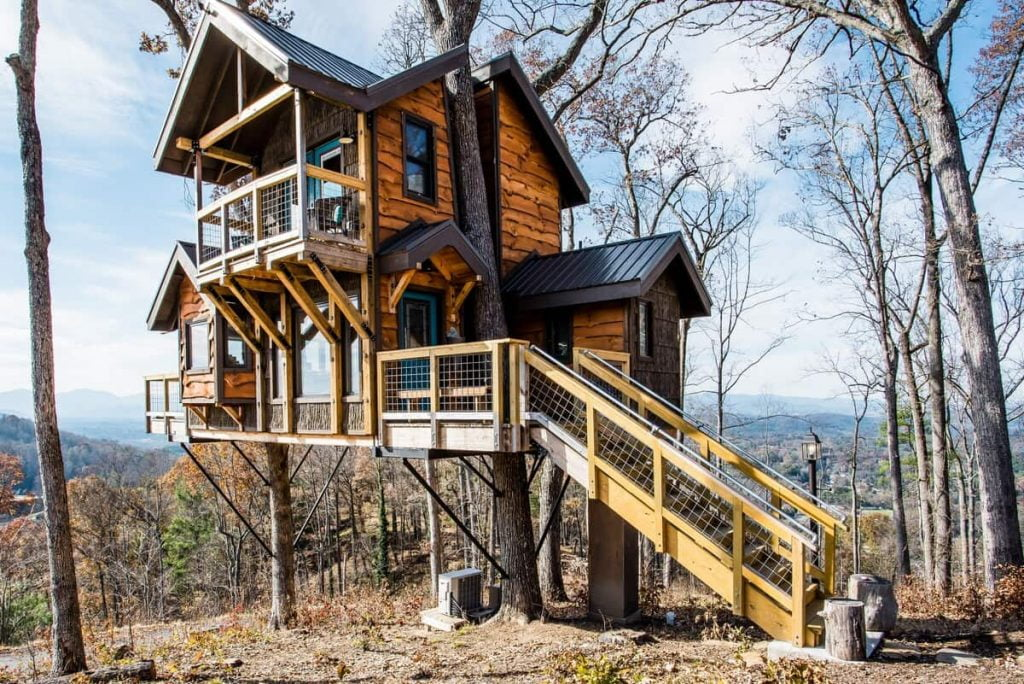 Best Airbnbs in North Carolina Treehouses Of Serenity
