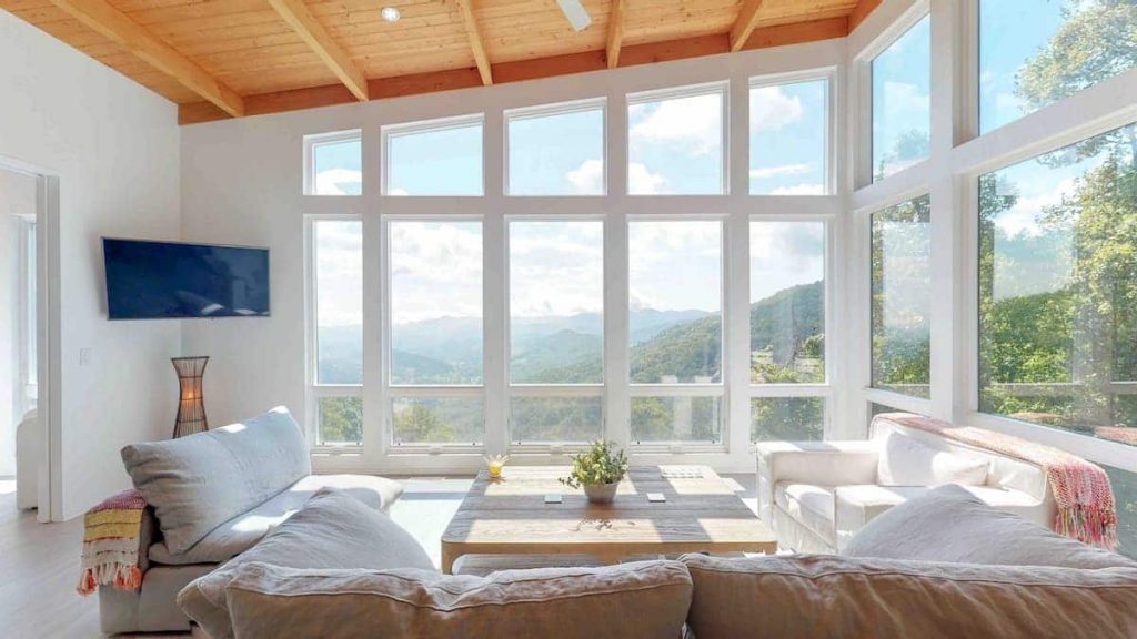 Best Views Airbnb North Carolina Contemporary Mountain View Home