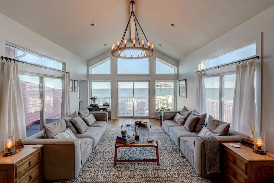 Luxury Oceanfront Beach House Airbnb North Carolina