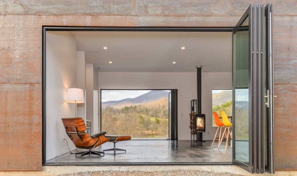 Minimalist Asheville Bungalow With Views North Carolina Airbnb
