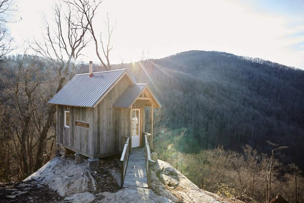 Raven Rock Cabin Airbnb North Carolina