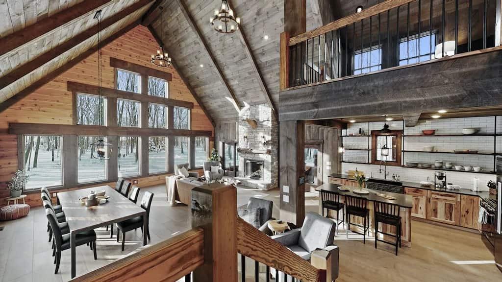 Spacious Lodge steps from Lake Michigan Vrbo Michigan