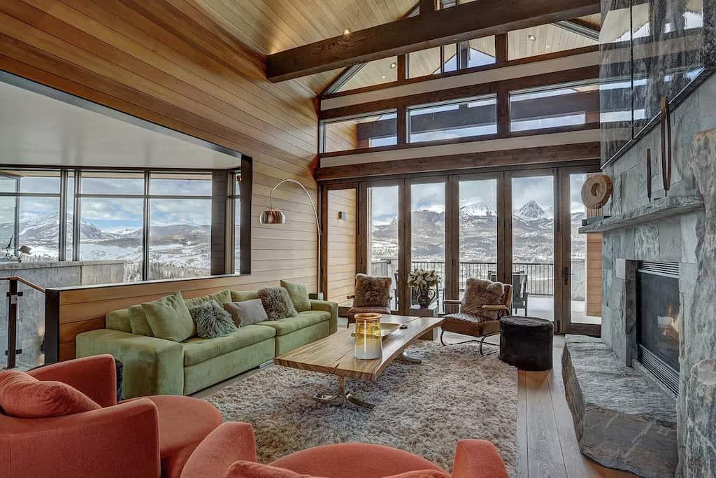 Best VRBO Colorado Award Winning Modern Mountain Home