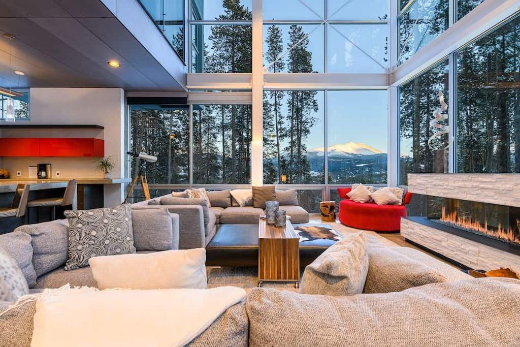 Seventh Heaven Ultra-Modern Luxury VRBO in Colorado