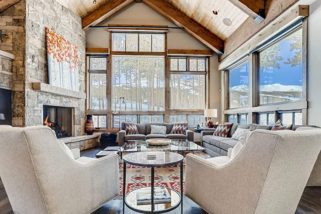 Slopeside Cabin VRBO Colorado