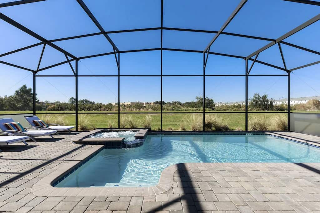 Best VRBO in Orlando Modern Luxury Villa