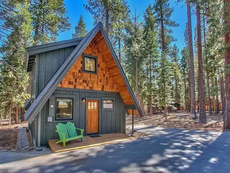 Airbnb Lake Tahoe Rental Modern Mountain A-Frame