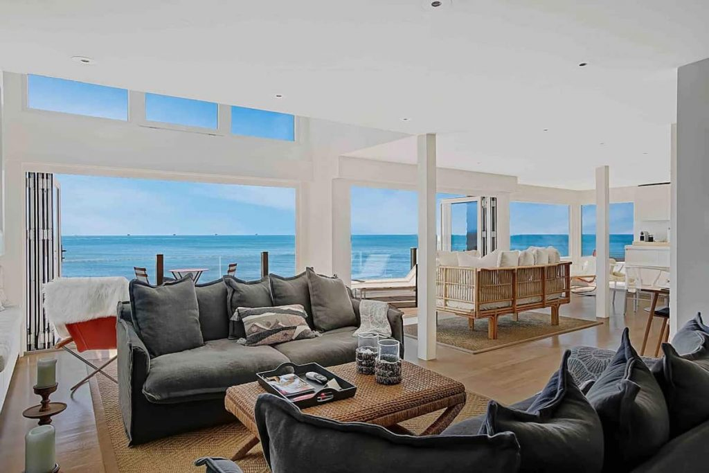 Best Beach Front Airbnb Santa Barbara Strand Hus