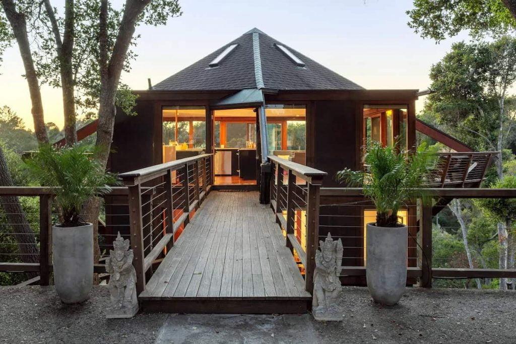 Best Treehouse Rentals in California Santa Cruz