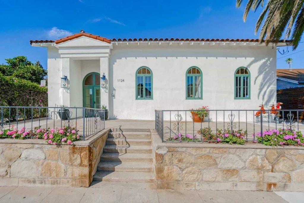 Casa Castillo Boutique Airbnb Santa Barbara
