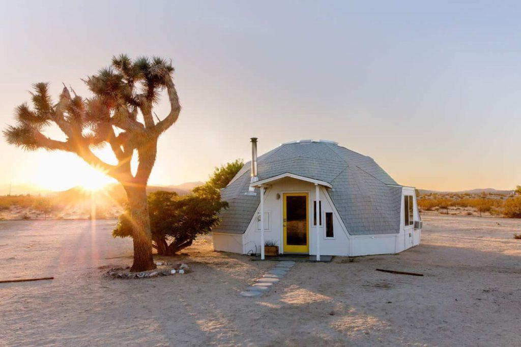 Dome in the Desert Glamping in California