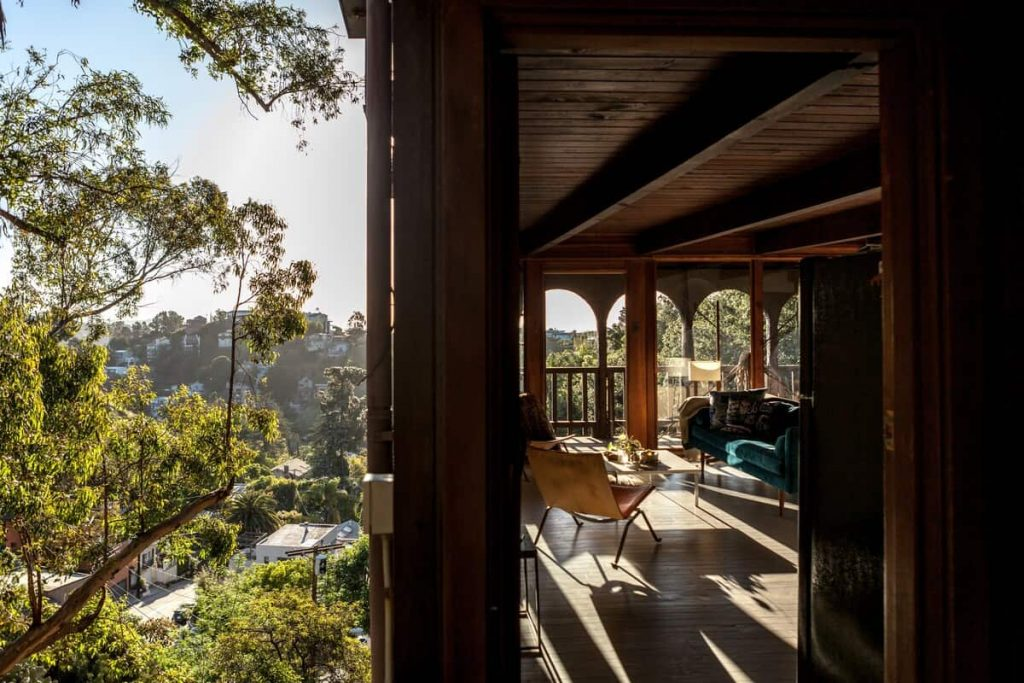 Hilltop John Lennon Home Los Angeles Airbnb
