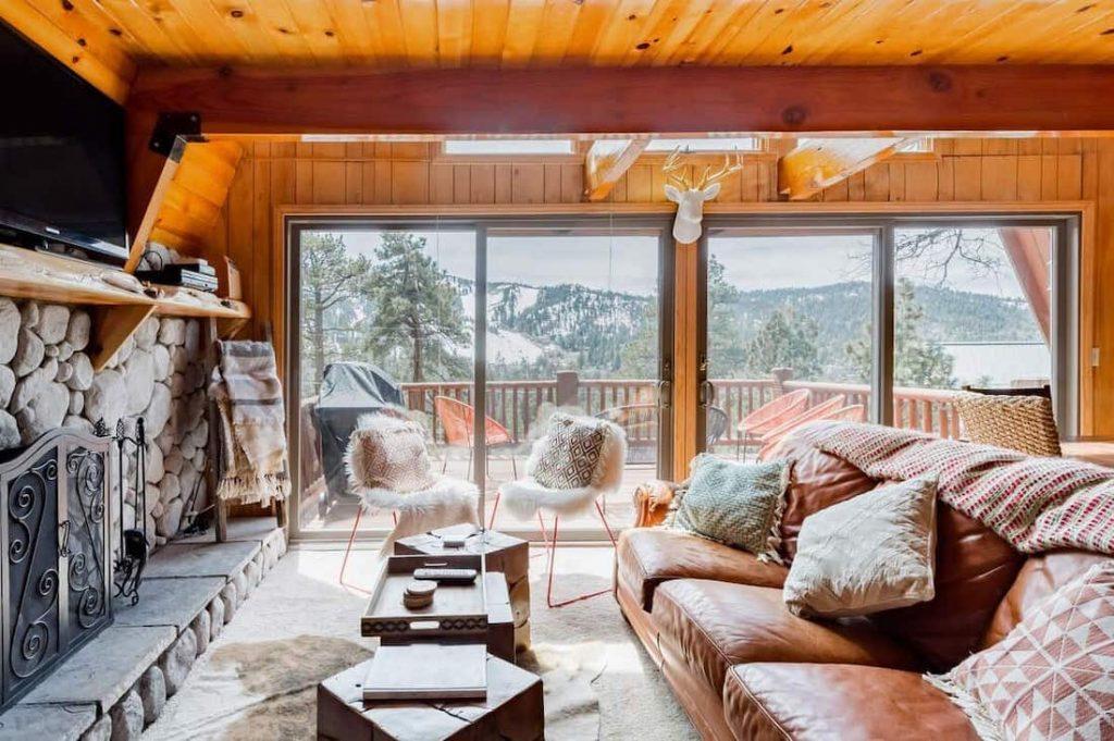 Hip Retro Cabin Big Bear Mountain Views
