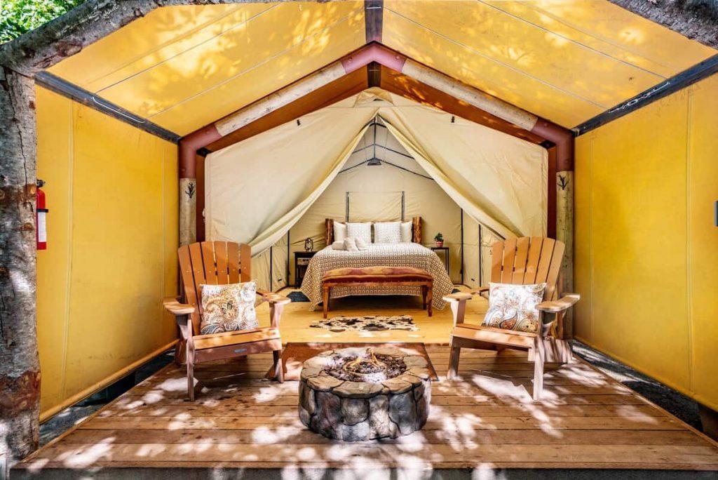 Luxury Tent Carmel Glamping
