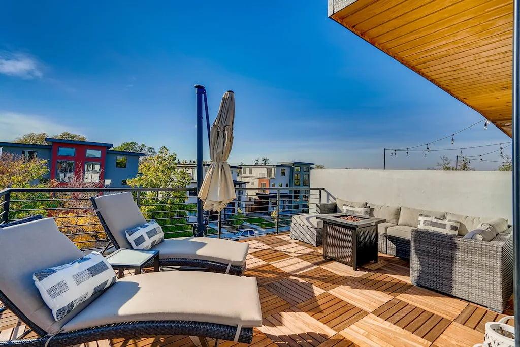 Roof Top Patio & A Hot Tub VRBO Denver
