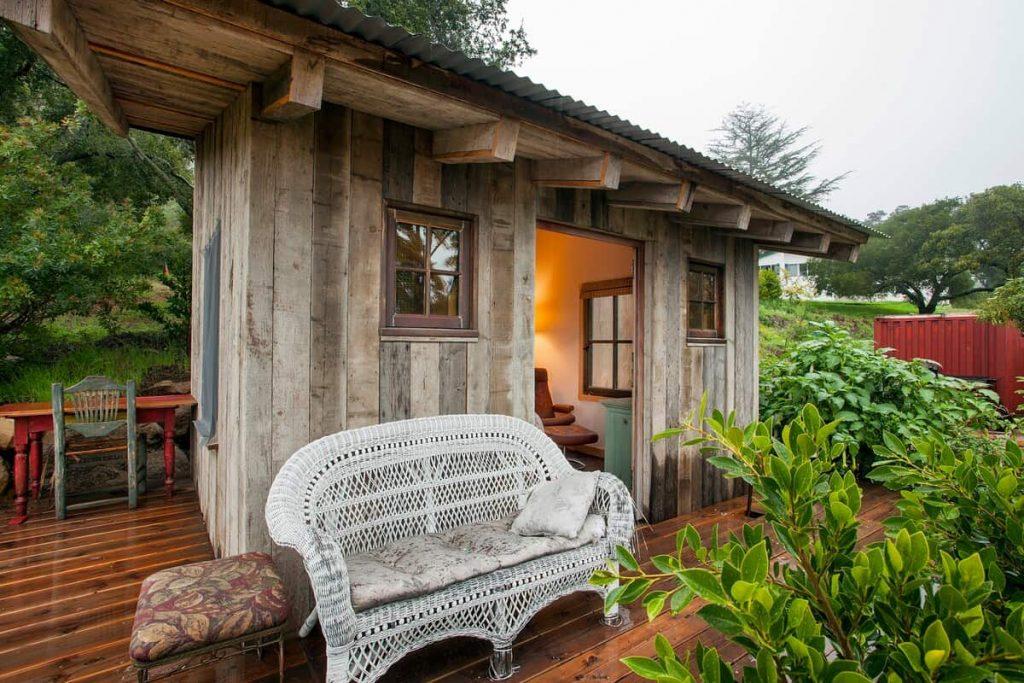 Rustic hiking cabin romantic airbnb santa barbara