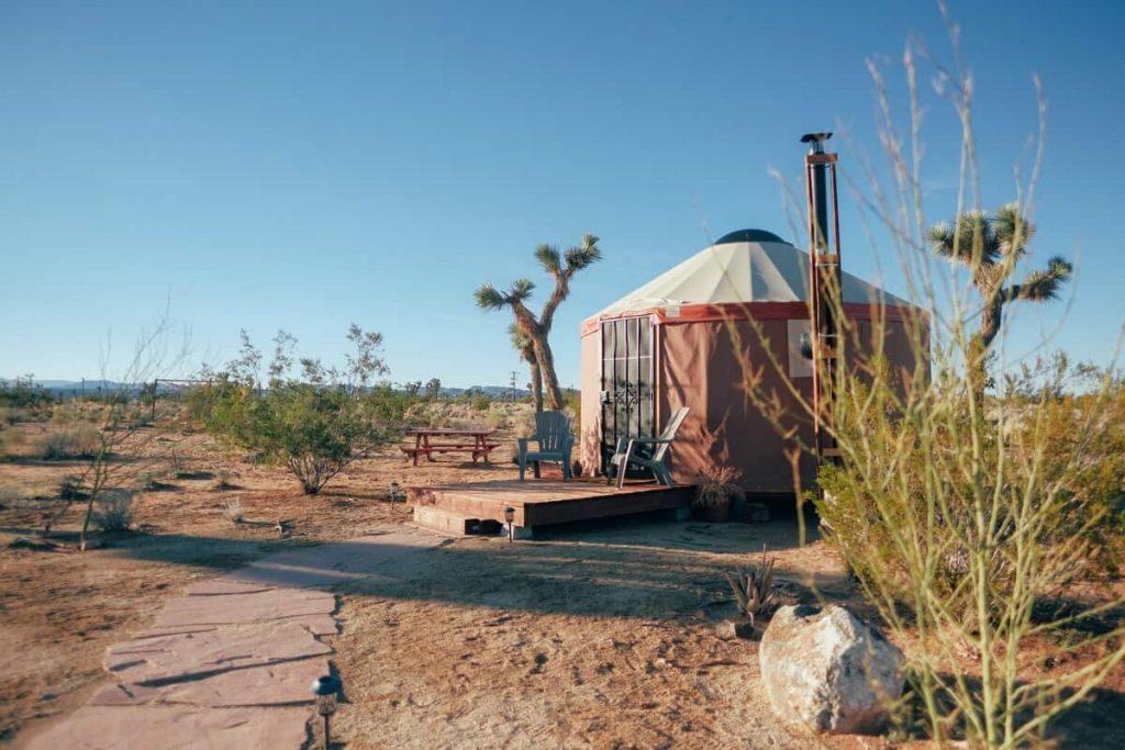 Stargazer Yurt Glamping in California