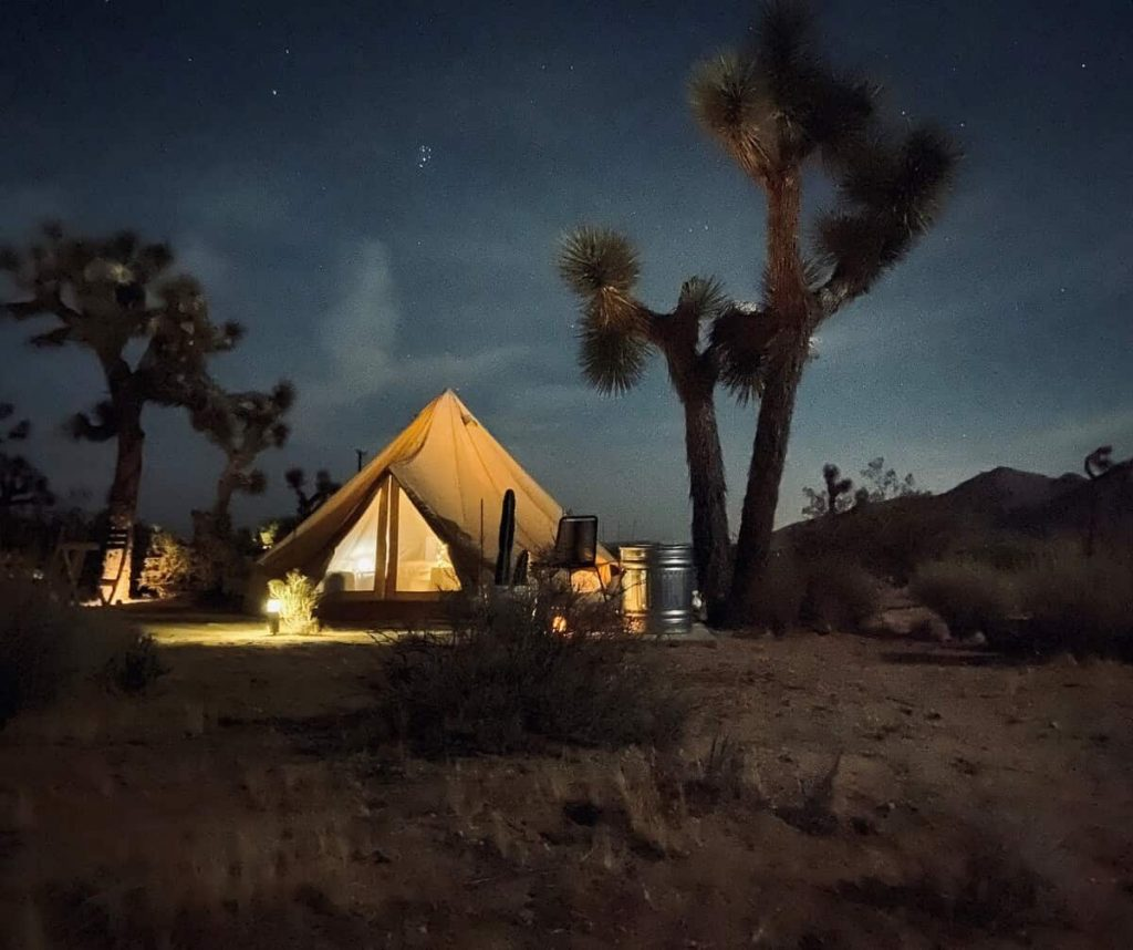 The Moon Dust Tent California Glamping