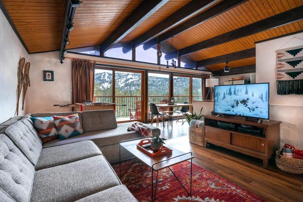 Treehaus Chalet big bear airbnb views