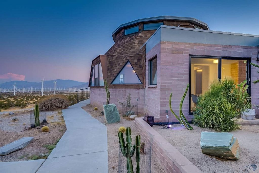 Unique Airbnb Palm Springs Palm Springs Dome Home
