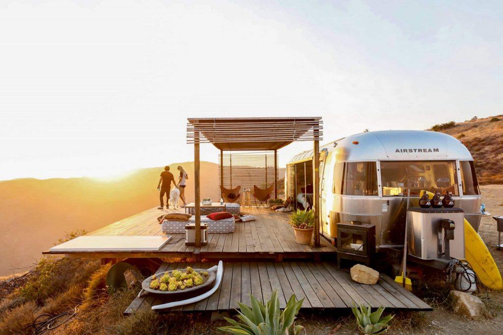 airbnb malibu airstream