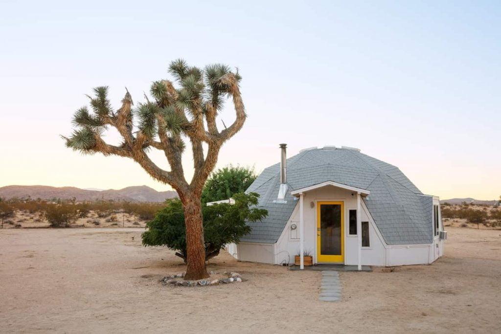 Best Airbnb Joshua Tree Cabin Rentals Dome Unique