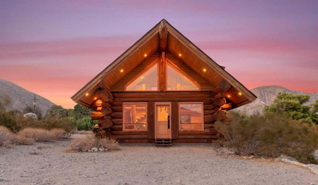Best Airbnb Palm Springs White Water Cabin