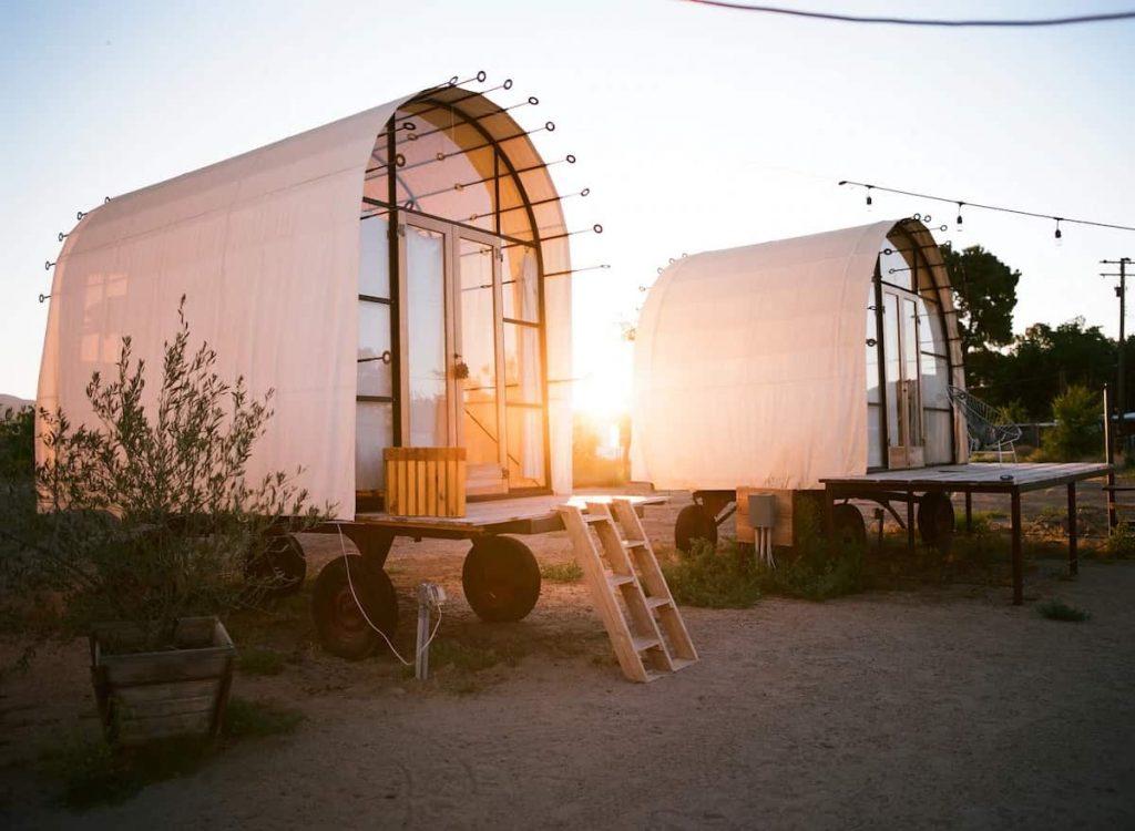 Best Glamping in California Big Sky Tent